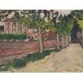 Бульвар с розовой стеной - Вальта, Луи