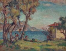 Домик на берегу моря, 1900 - д'Эспанья, Жорж