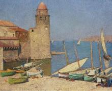 Порт Коллиура, 1920 - Мартен, Анри Жан Гийом