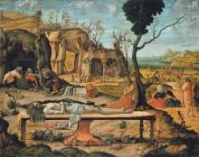 Приготовление гробницы Христа - Карпаччо, Витторе
