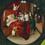 Семь смертных грехов и четыре последние вещи - Смерть грешника - Босх, Иероним (Ерун Антонисон ван Акен)