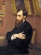 Портрет Павла Михайловича Третьякова, основателя Галереи - Репин, Илья Ефимович