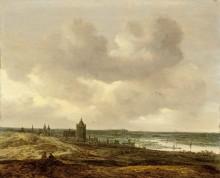 Пейзаж с видом на Арнем - Гойен, Ян ван