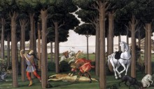 Новелла о Настаджио дельи Онести, 1483 - Боттичелли, Сандро