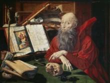 Святой Джером, 1547 - Реймерсвале, Маринус ван