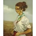 Молодая женщина из Камарг - Диф, Марсель