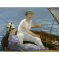 Катание на лодке - Мане, Эдуард