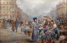 Цветочный рынок - Барбарини, Эмиль