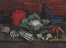 Натюрморт с цветной капустой - Бюффе, Бернар