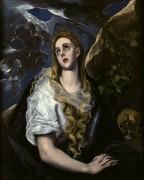Кающаяся Мария Магдалина - Греко, Эль
