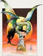 Кью  (Крылатый змей, кинофильм) - Вальехо, Борис (20 век)
