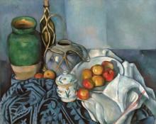Натюрморт с яблоками - Сезанн, Поль