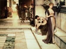 Аподитерий (Комната для раздевания) - Альма-Тадема, Лоуренс