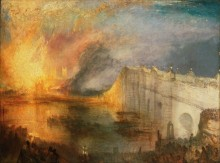 Пожар в Доме парламента 16 октября 1834 - Тернер, Джозеф Мэллорд Уильям