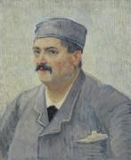 Портрет владельца ресторана (Portrait of a Restaurant Owner, Possibly Lucien Martin), 1887 - Гог, Винсент ван