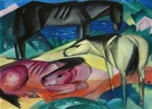 Три лошади II - Марк, Франц