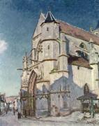 Церковь в Море - Сислей, Альфред