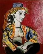 Жаклина в турецком одеянии - Пикассо, Пабло