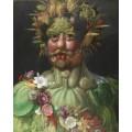 Император Рудольф II в образе Вертумна - Арчимбольдо, Джузеппе