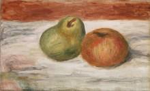 Груша и яблоко - Ренуар, Пьер Огюст