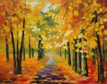 Золотая осень - Афремов, Леонид (20 век)