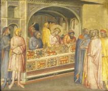 Святой Элигий в ювелирной мастерской - Гадди, Таддео