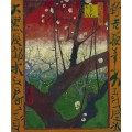 Цветущая слива (Japanese - Plum Tree in Bloom (after Hiroshige), 1887 - Гог, Винсент ван