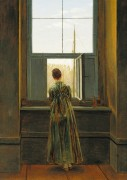 Женщина у окна - Фридрих, Каспар Давид