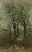 Утки спускаются к пруду - Марис, Виллем (Венцель Марис)