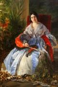 Портрет светлейшей княгини Елизаветы Павловны Салтыковой - Брюллов, Карл Павлович
