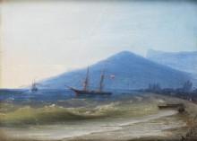 Российские корабли в Ялте - Айвазовский, Иван Константинович