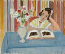 Читающая девушка - Матисс, Анри