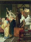Скульптурная галерея - Альма-Тадема, Лоуренс