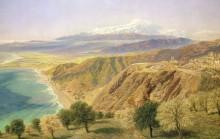 Пейзаж в Таормине, Сицилия - Бретт, Джон