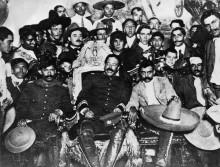 Панчо Вилья и Эмилиано Сапата с революционерами