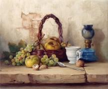 Натюрморт с корзиной фруктов - Шало, Роберт