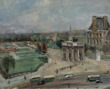 Париж, Лувр, карусель - Адрион, Люсьен