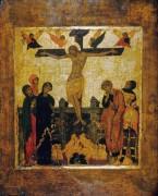 Распятие с предстоящими, 16 век