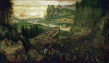 Самоубийство Саула - Брейгель, Питер (Старший)