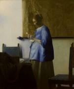 Женщина, читающая письмо - Вермеер, Ян
