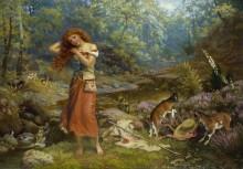 Туалет Одри в Арденском лесу (по комедии Шекспира Как вам это понравится) - Хьюз, Артур