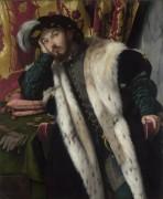 Портрет графа Фортунато Мартиненго Чезареско - Моретто да Брешиа