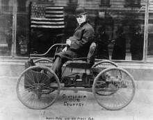 Генри Форд и его первый автомобиль,