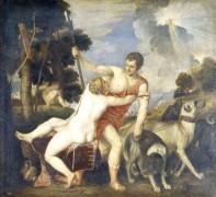 Венера и Адонис, 1554 - Тициан, Вечеллио