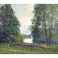 Берега реки Луан, 1896 - Сислей, Альфред