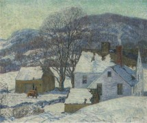 Пейзаж с фермой - Ирвин, Уилсон Генри