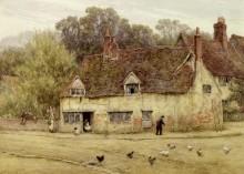 Пейзаж со старым коттеджем - Аллингем, Хелен