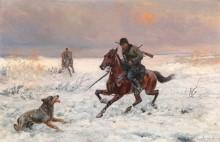 Зимняя охота - Ярошинский, Йозеф