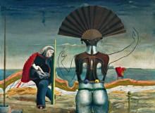 Женщина, старик и цветок - Эрнст, Макс