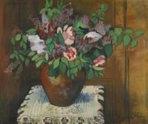 Ваза с цветами - Валадон, Сюзанна